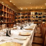 Private Wine Room at Araxi Restaurant